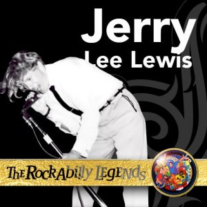 Jerry Lee Lewis with mic