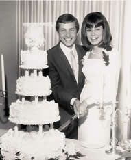 1966Wedding,jn,pn,receptionwithcake