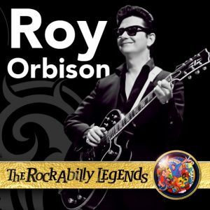 Roy Orbison with lead guitar