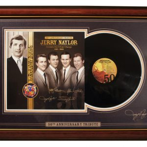 Crickets Don't Ever Change - Framed LP Set