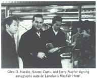 1962UKTour.GlenD.Sonny.J.NaylorMayfairHotelAutographs